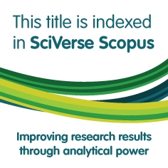 This title is indexed in SciVerse Scopus