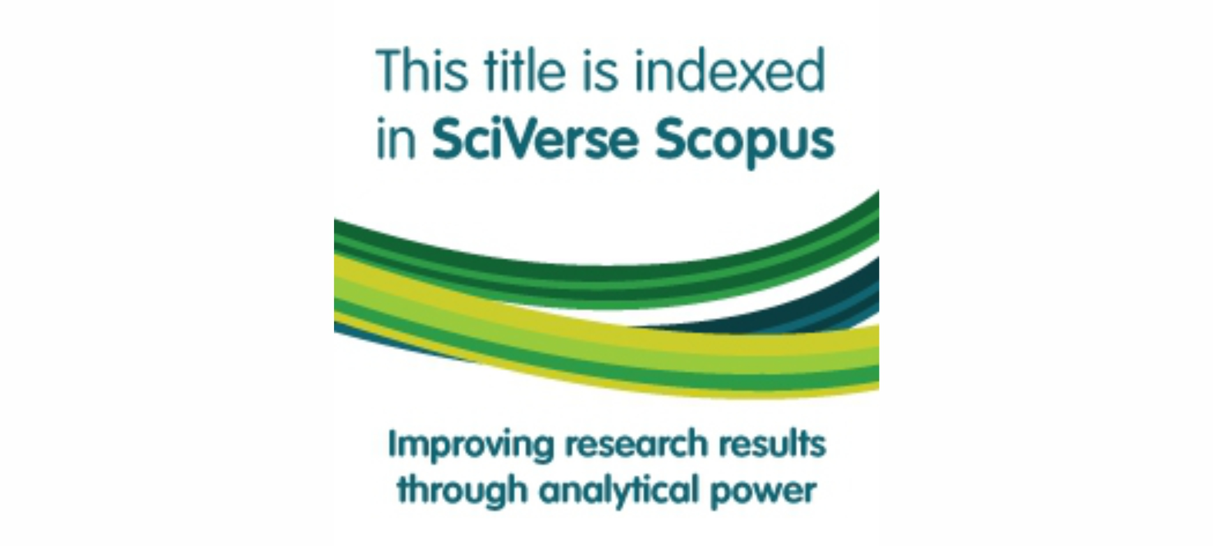 Journal indexed by SciVerse Scopus